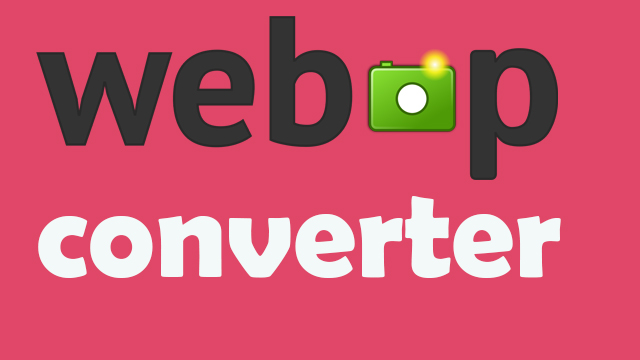 How to Convert  an Image to Webp Format in less than 30 Second
