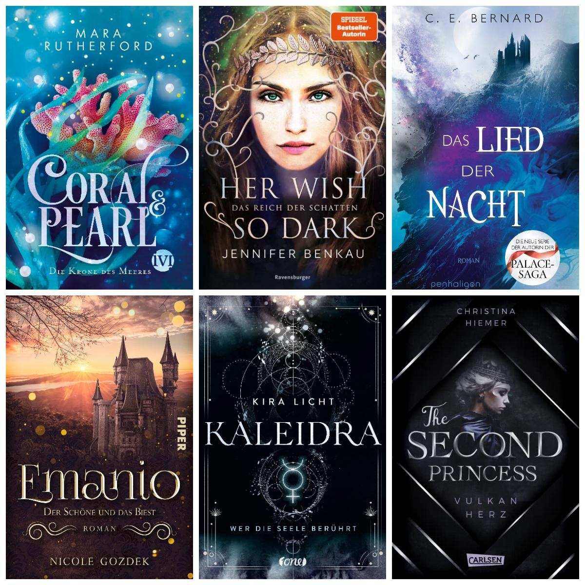 Bücherblog. Neuerscheinungen. Jugendbuch. Fantasy. März 2021.
