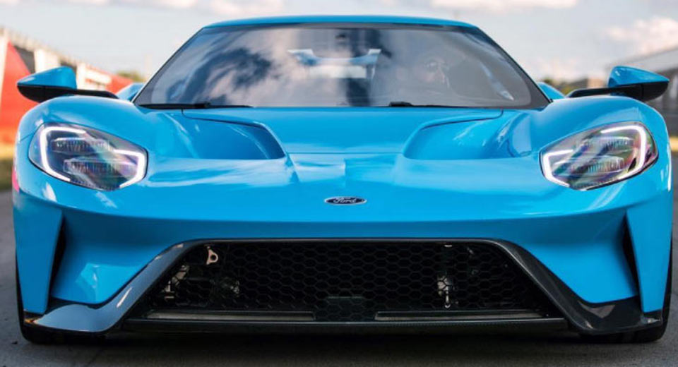 Ford Only Offers The  Gt Supercar In Eight Standard Paint Options But As Weve Learned There Are A Number Of Gts Already On The Roads That Have Custom