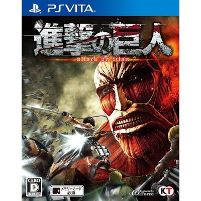 shingeki no kyojin 422845.12 - Attack on Titan: Wings of Freedom (VPK) PS VITA