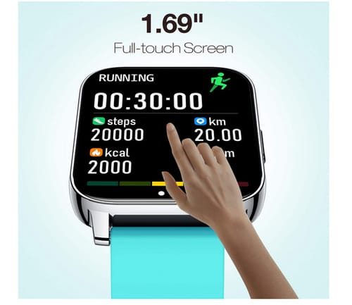 AllCall 3D curved HD Women Smart Watches