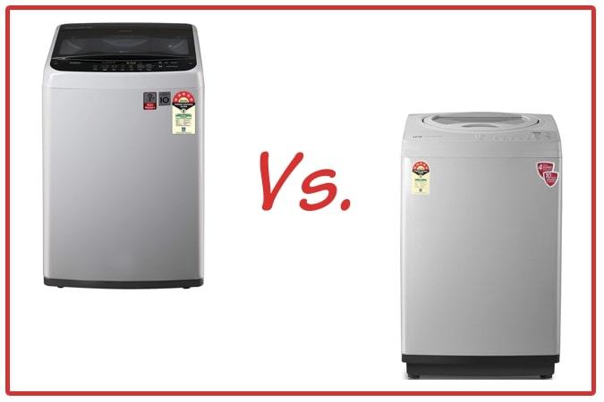 LG T70SPSF2Z and IFB TL RSS Aqua Washing Machine Comparison.