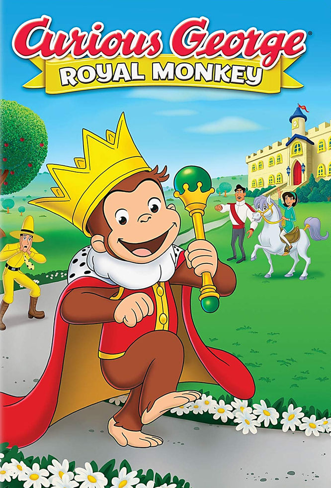 Curious George: Royal Monkey [2019] [DVDR] [NTSC] [Latino]