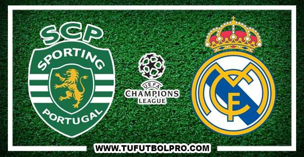 Ver Sporting Lisboa vs Real Madrid EN VIVO Por Internet Hoy 22 de Noviembre 2016