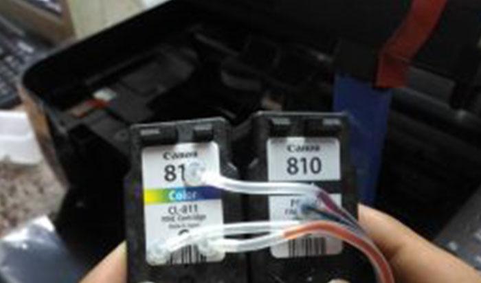 Begini Cara Pasang Infus Printer Canon ip2770 Dan mp278