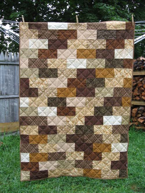 The Brick Wall Quilt - Free Pattern