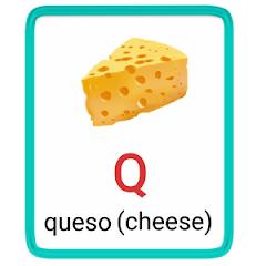 q- alphabet in spanish