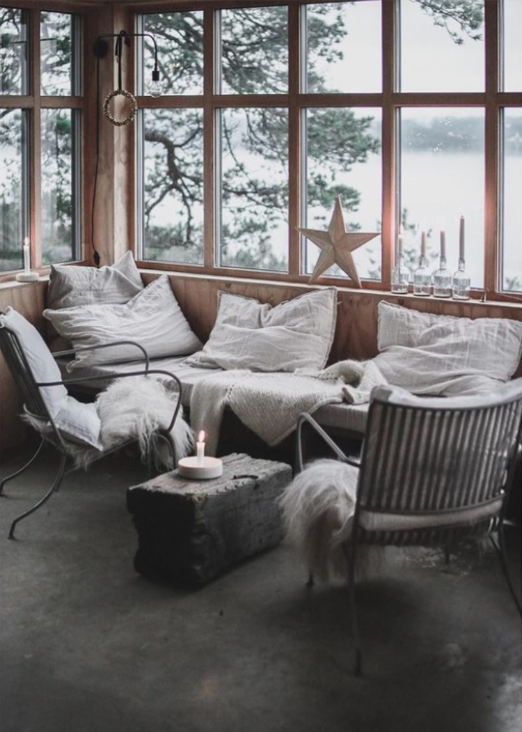 A Simple, Yet Cosy Norwegian Cabin By The Fjord