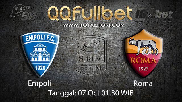 Prediksi Bola Jitu Empoli vs Roma 07 October 2018 ( Italian Serie A )
