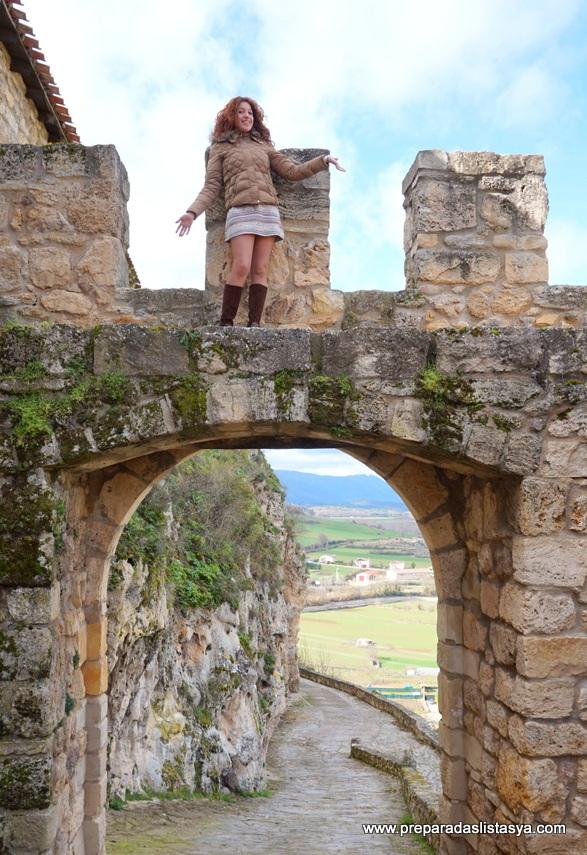 Frías arco romano
