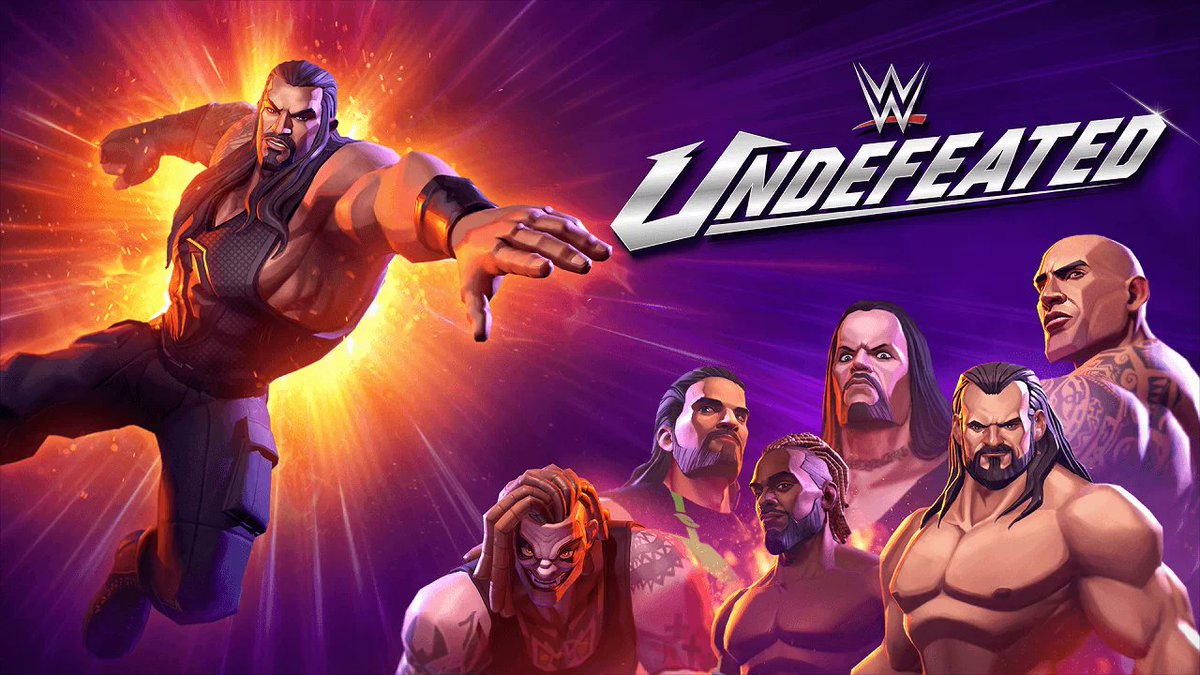 """Wrestling Arcade """"WWE Undefeated"""" for iOS and Android Announced"""