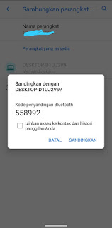 Cara Menyambungkan Bluetooth HP Ke Laptop
