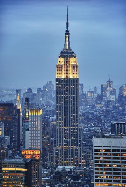 Top 5 arranha-céus em Nova York: Empire State Building