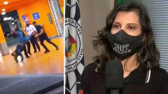 delegada diz morte carrefour nao racismo