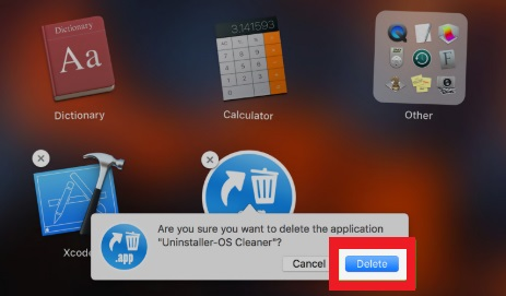 Uninstall App on macOS