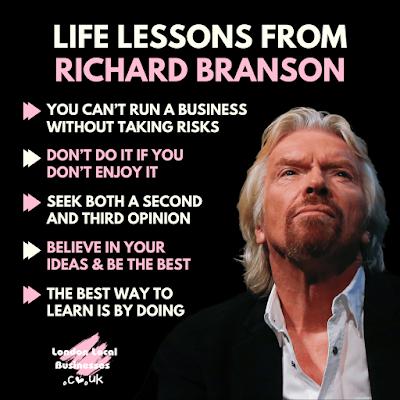 Richard Branson London UK