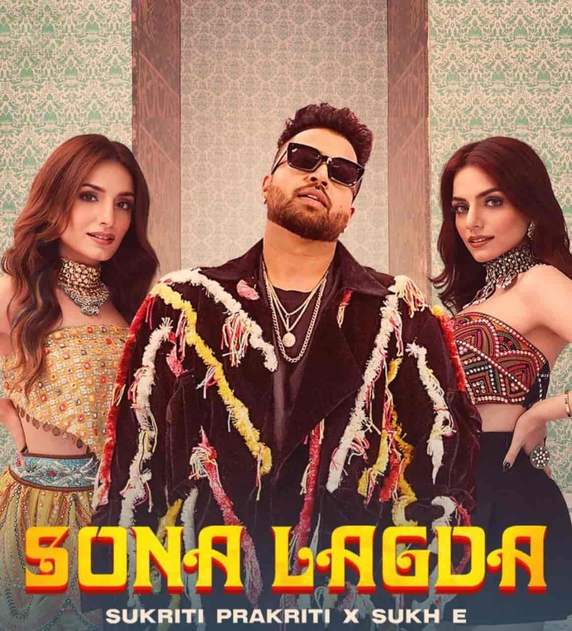 Sona Lagda Punjabi Song Image Features Prakriti Kakar, Sukriti Kakar