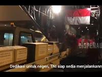 Berangkat Dari Malang via Natuna, C130 Hercules Terbang ke Shanghai Angkut Logistik Kesehatan Basmi Corona