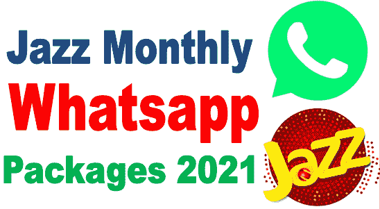 Jazz monthly whatsapp packages codes and details 2020