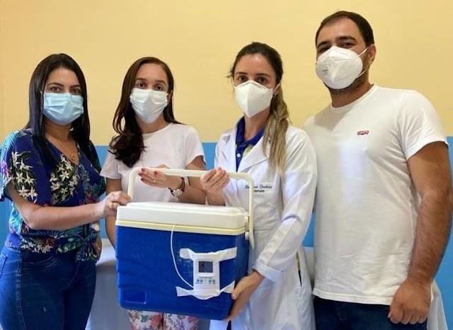 Rio de Contas recebe primeiro lote de doses da vacina contra a Covid-19