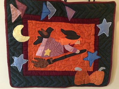Halloween Night wall quilt