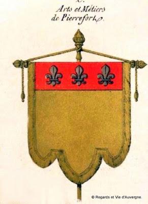 Bannière des Arts et Métiers d'Auvergne Pierrefort