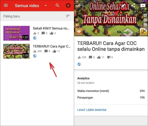 Cara Sembunyikan Jumlah Like dan Dislike Video Youtube di Android