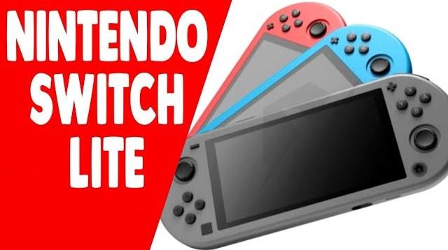 Nintendo Switch versão Lite