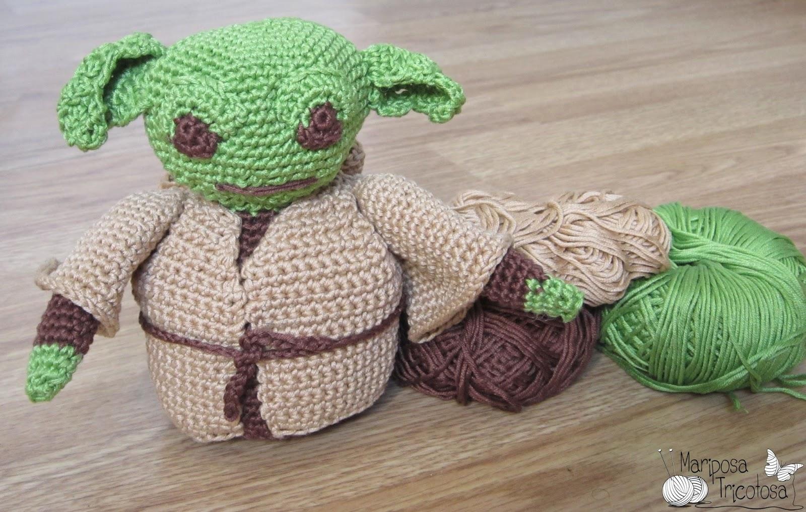DIY Yoda Star Wars amigurumi crochet/ganchillo (tutorial ... | 1016x1600