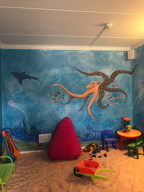 Under the sea magically fun family salt therapy suite at North Shore Salt Therapy Center!