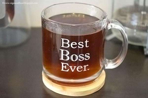 Best Boss Ever Glass Mug Vegas And Food