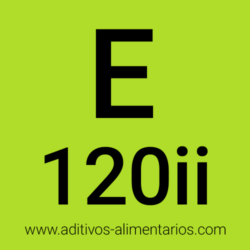 E120ii - Extracto de Cochinilla