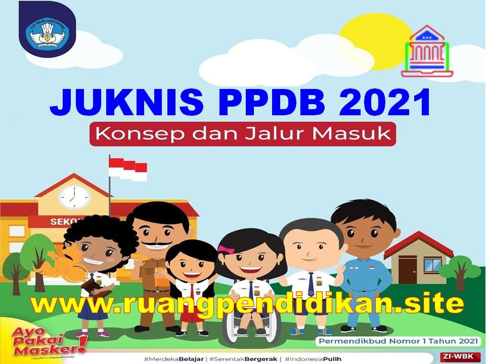 Juknis Penerimaan PPDB Tahun 2021