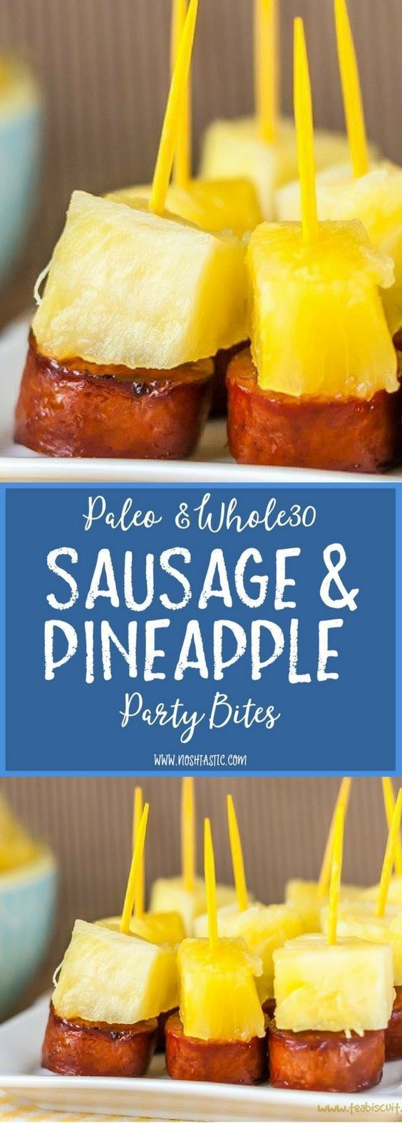 Sausage and Pineapple Party Bites