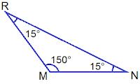 Obtuse Angled Triangle MNR