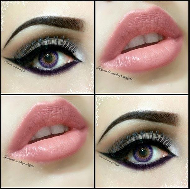 Arabic Smokey Eyes Makeup Tips Pics Lenses