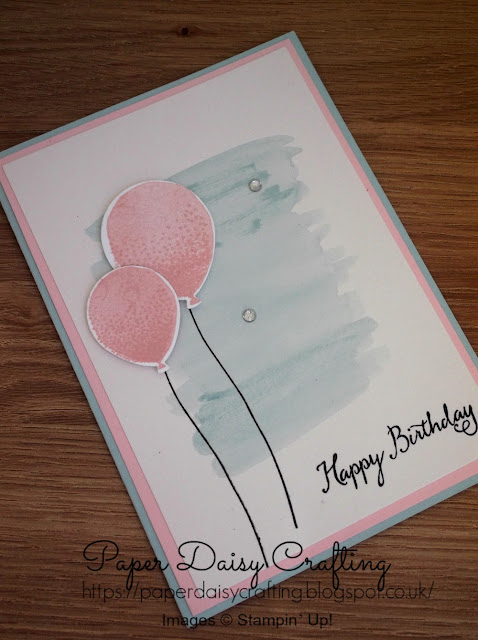 Balloon celebrations from Stampin' Up!