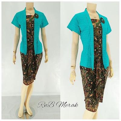 RnB Batik Merak Biru