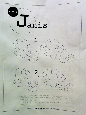 Ready to Sew Janis top
