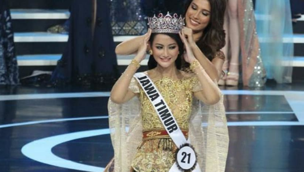 Ayu Maulida es Miss Indonesia 2020