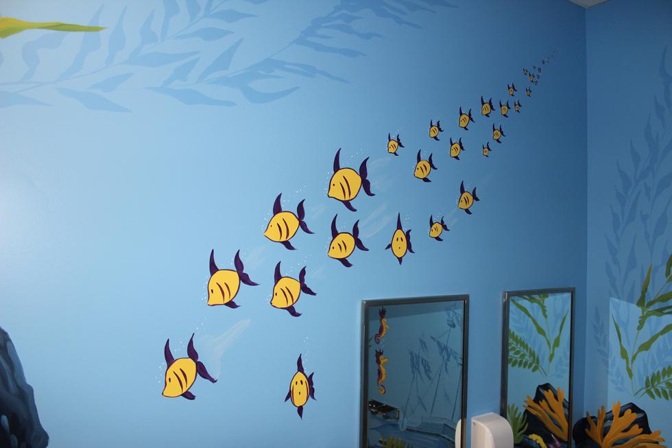 PLAY SCHOOL WALL PAINTING School Wall Painting