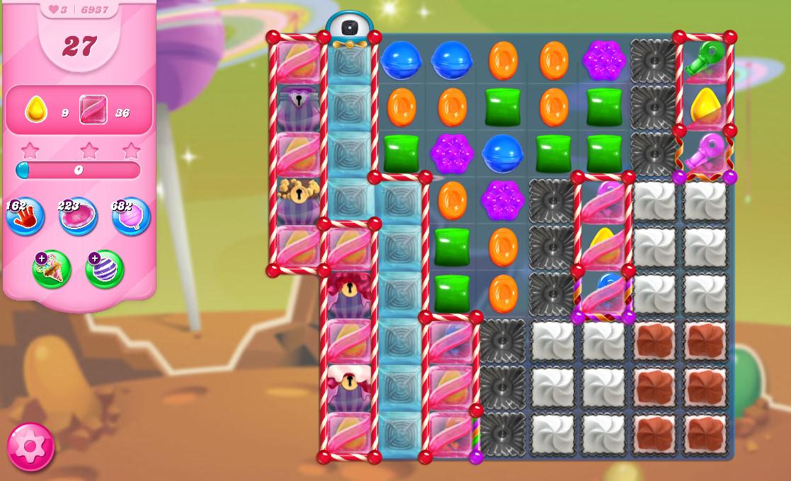 Candy Crush Saga level 6937