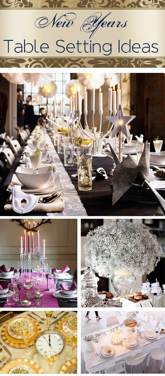 Lavender Fields A Lifestyle Store: New Years Eve Tables ...