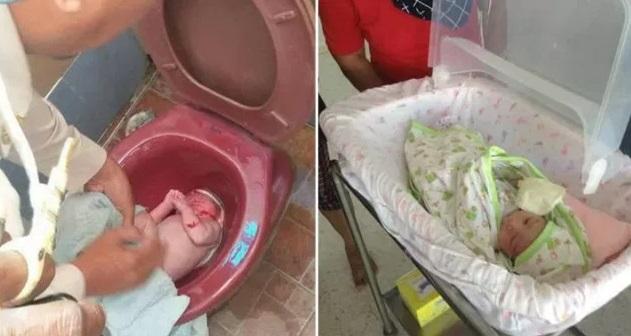 (7 GAMBAR) Pelajar Kolej Didakwa Kerana Buang Bayi Dalam Lubang Tandas Di Sebuah Stesen Minyak..