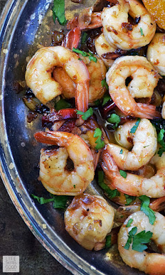 Spanish Garlic Shrimp | by Life Tastes Good