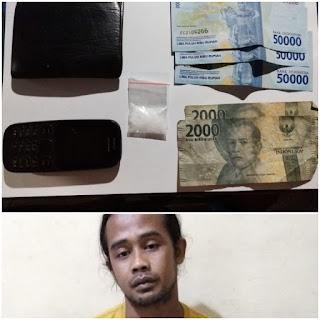 Bawa Satu Paket Sabu, Suher Manto Diciduk Polisi