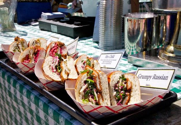 Feira gastronômica de Smorgasburg em Nova York
