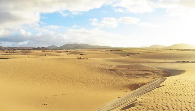 Dunas Corralejo en Fuerteventura