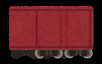 貨物列車のイラスト(貨物のみ)