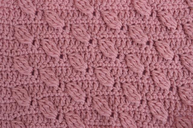 1-Crochet Imagenes Puntada de hojas a relieves a crochet y ganchillo por Majovel Crochet